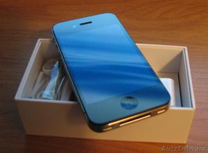 Новый Apple iPhone 4 16GB/32GB оригинальные, сделанные в США, - Изображение #1, Объявление #248541