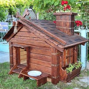 Мини дом для собаки. Дизайнерские домики, будки, вольеры на заказ... - Изображение #1, Объявление #867699