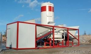 Мобильный бетонный завод, БСУ, РБУ Эконом-класса 30 м3/ч - Изображение #1, Объявление #1577524