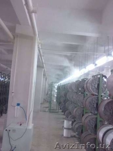 Промышленный увлажнитель воздуха для швейного цеха и т.д. в Ташкенте!! - Изображение #1, Объявление #1590202