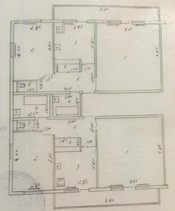 Ц-6 ул.Осие Турон банк, к-тр Казахстан две двух комнатные на площадке - Изображение #7, Объявление #1695431
