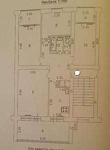 Эльбек массив быв вин завод,магазин виноград 4 х 3 эт 4 х с ремонтом - Изображение #2, Объявление #1695057
