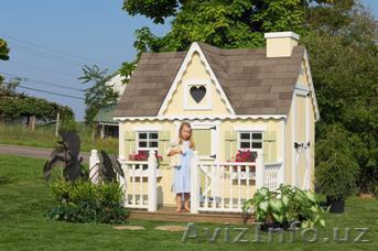 Детские игровые деревянные домики для дачи, улицы, Объявление #162104