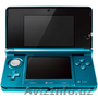 BRAND NEW NINTENDO 3DS COSMO BLACK AQUA BLUE GAMING SYSTEM