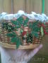 сувениры  и цветы. Украшение на торты из бисера и хрусталя на заказ