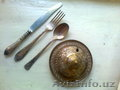 Продаются: Мелихиоровые - Икорница. Набор вилок  ножей ложек