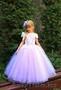 Платье детское сиреневое 10-004