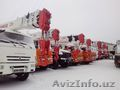 Автомобильный кран КС-55732 г/п 25 тонн стрела 28, 1м