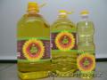 Подсолнечное масло рафинированное оптом от производителя из Украи