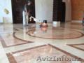Шлифовка и полировка мраморных,  бетонных и кирпичных полов