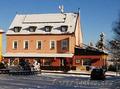 Горный отель и ресторан в Чехии рядом с Теплице