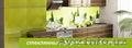 Фартуки для кухни из стекла с рисунком «Скиналли»