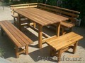 Изготавливаем садовую мебель из дерева, мебель для дома, дачи и кафе. Кованные и - Изображение #3, Объявление #1605142