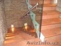 Перила изготавливаем на заказ из нержавеющей стали,  перила из дерева (осина,  сос