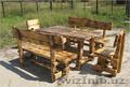 Изготавливаем садовую мебель из дерева, мебель для дома, дачи и кафе. Кованные и - Изображение #4, Объявление #1605142