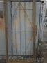 Продам решётчатую дверь из 65 уголка,  размер 2 метра на 90 см