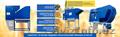 Сепаратор для очистки и калибровки зерна, посадочного материала и т. д, Объявление #1609640
