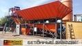 Мобильный бетонный завод EUROMIX CROCUS 60/1500.3.12 COMPACT 2 СКИП