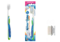PIAVE h2o orthodontic/sensitive toothbrush + spare head